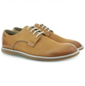 Clarks Farli Walk Tan Leather