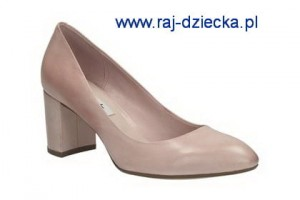 Clarks Blissful Cloud Dusty Pink Lea